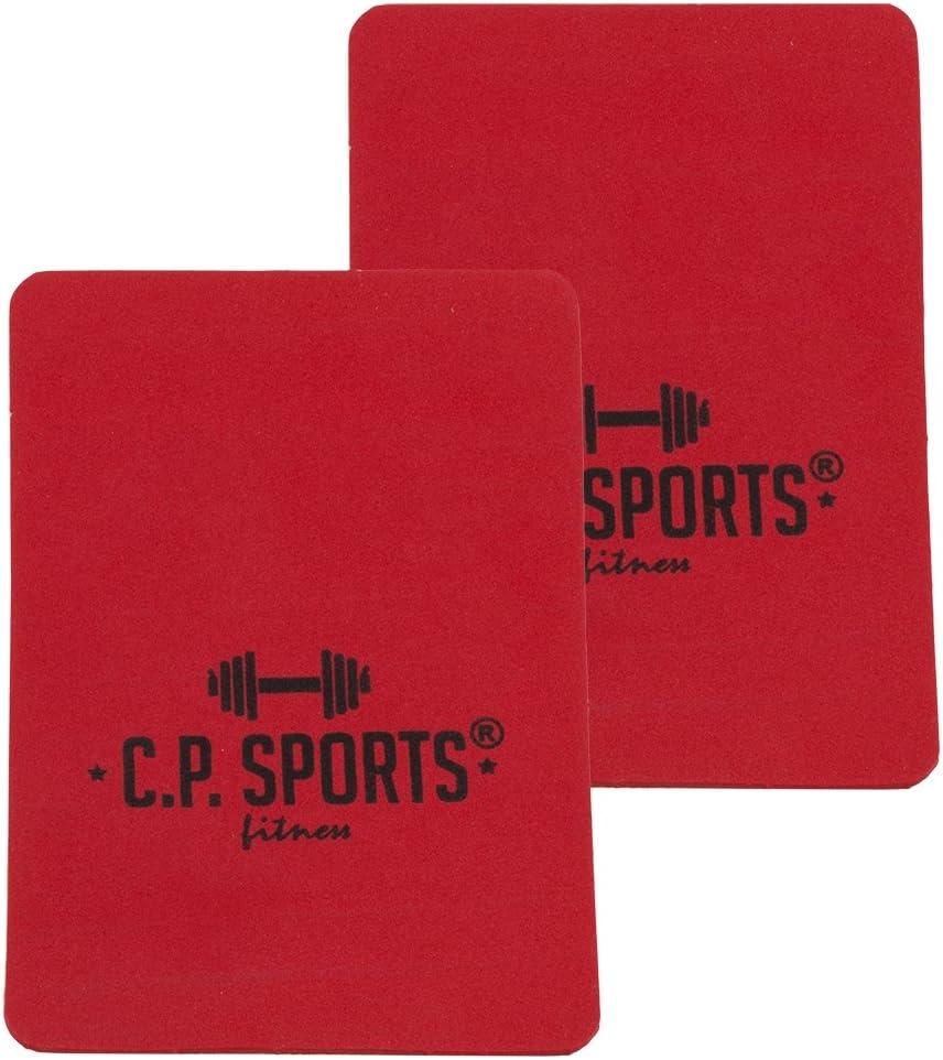Fitness-Pads 10x14cm // Ideal f/ür Bodybuilding /& Kraftsport // CP Sports Griffpads Griffpolster 3mm Powerpad