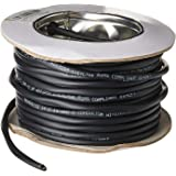 Monoprice - 113715 Nimbus Series 14 Gauge AWG 2 Conductor CMP-Rated Speaker Wire/Cable - 50ft UL Plenum Rated, 100% Pure Bare