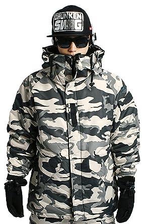 5dc07a761f614 Amazon.com: Southplay Mens South Play Waterproof Ski Snowboard Wear Jacket  Jumper CAMO: Clothing