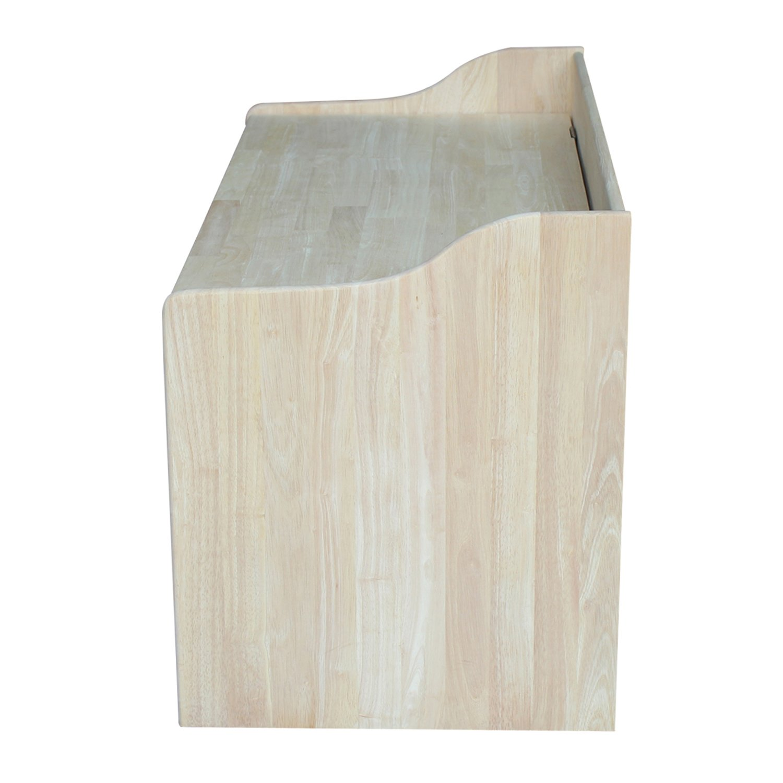 International Concepts Unfinished Storage Box, 38(W) x 419(L) x 23(H) by International Concepts (Image #5)