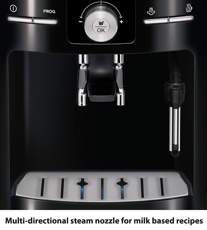 KRUPS EA8250 Fully Auto Espresso Machine, Espresso Maker, Burr Grinder, 60 Ounce, Black by KRUPS (Image #1)