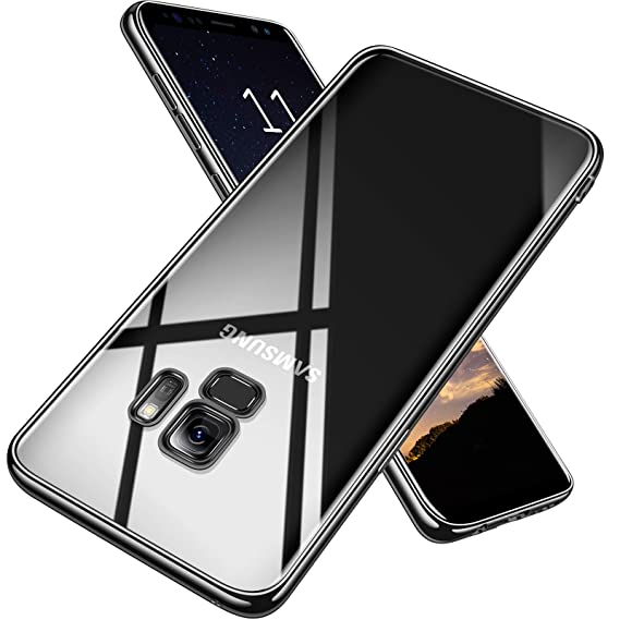 promo code 9d797 241ea TORRAS Crystal Clear Galaxy S9 Case, Ultra Thin Slim Fit Soft TPU  Protective Transparent Cover Case Compatible with Galaxy S9 (5.8