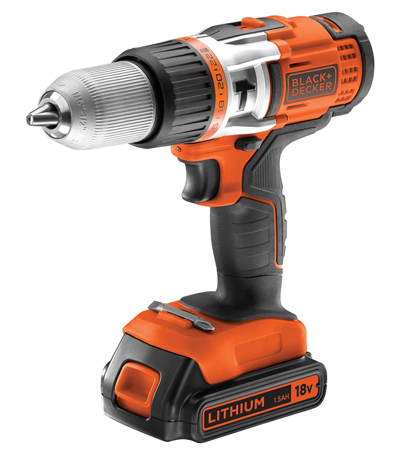 Black + Decker EGBHP188BK Perceuse sans Fil Stanley Black & Decker France EGBHP188BK-QW