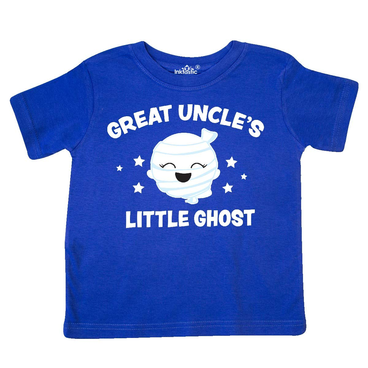 inktastic Cute Great Uncles Little Ghost with Stars Toddler T-Shirt