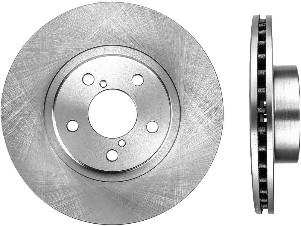 Outback Saab 9-2X 2 Front Slotted Disc Brake Rotors for Subaru Legacy Impreza