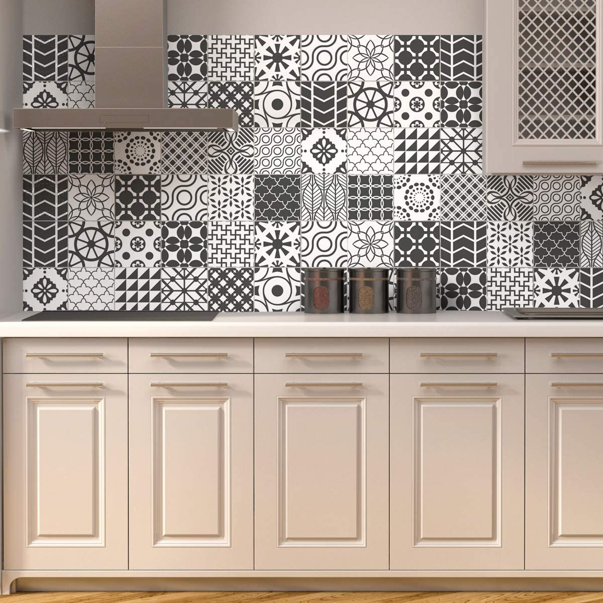 Home Decor Kitchen Tile Transfer Ceramic Tile Stickers Great Temperature Resistant L Home Furniture Diy Nuthousesportsgrill Com