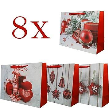 Bolsa para Regalo de Navidad Tamaño Mediano - 8 Piezas ...