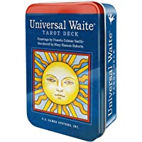 Universal Waiteƒ'' Tarot Deck in a Tin