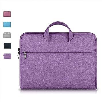 Amazon.com: imoregro portafolios bolso de cierre manga bolsa ...