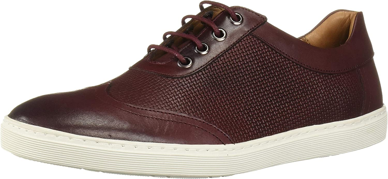Driver Club USA Men's Now free shipping Leather Max 45% OFF Mini Basket Brooklyn Wingtip Sneak