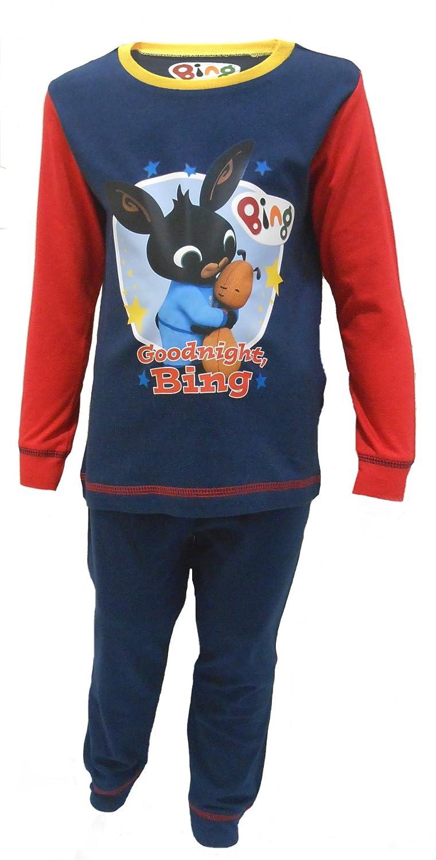 Boys Bing Pyjamas CBeebies Character 18-24m 2-3y 3-4y 4-5y 100% Cotton