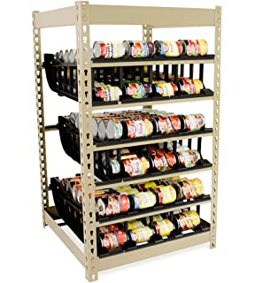 Can Rack 200 By FIFO | Stores 200 Cans | Eliminates Waste | Organize, Rotate