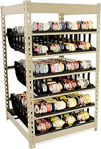 FIFO puede rack stackable- Organizador de Almacenamiento