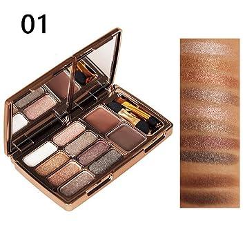 c939f01e4a48 Amazon.com : Binglinghua Glitter Eyeshadow Shimmer Ultra Pigmented ...