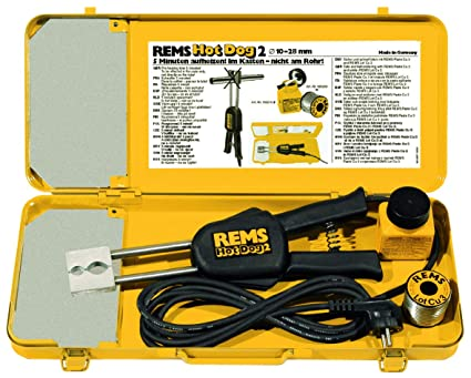 Rems hot dog 2 - Pinza soldar electrico/a hot dog2 cobre diámetro 10-