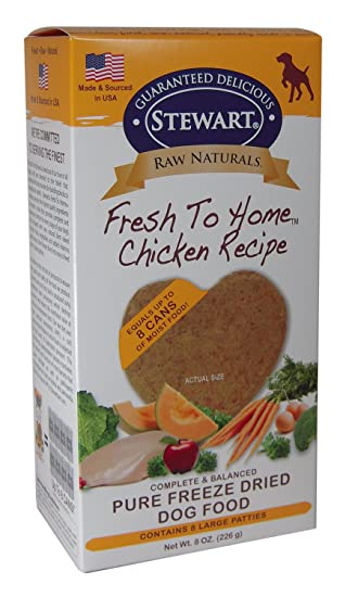 Stewart Raw Naturals Freeze Dried Patties Grain Free Made In Usa
