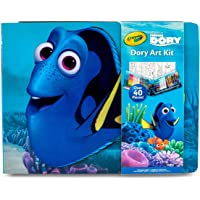 Deals on Crayola Finding Dory Art Kit, Gift for Kids 42 Piece