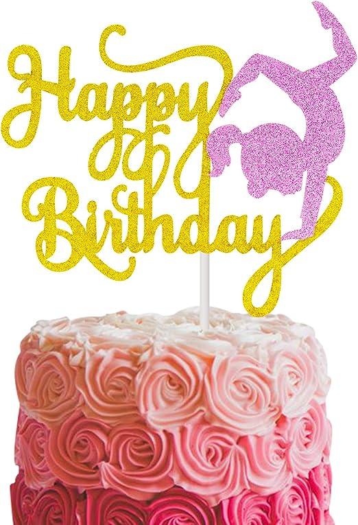 Amazon.com: Decoración para tarta de cumpleaños para niños y ...