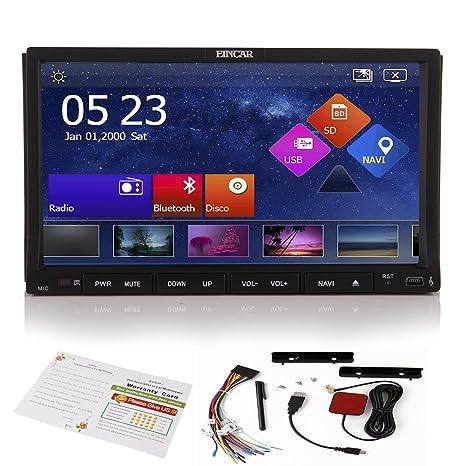 EinCar capacitiva de navegaci¨®n GPS en el tablero de radio CD de la