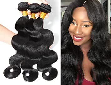 Amazon queen rose brazilian hair extensions water body wave queen rose brazilian hair extensions water body wave 100 human virgin remy hair wholesale 3pcs pmusecretfo Choice Image