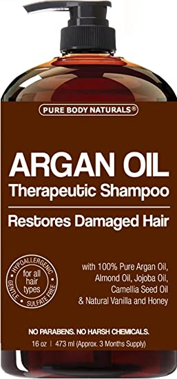 Argan Oil Shampoo Restores Hair - Argan Oil for Hair