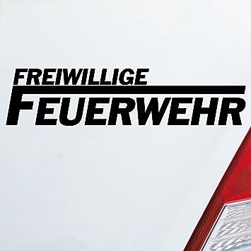 Auto Aufkleber In Deiner Wunschfarbe Freiwillige Feuerwehr Langes F Leben 195x45cm Autoaufkleber Sticker Folie