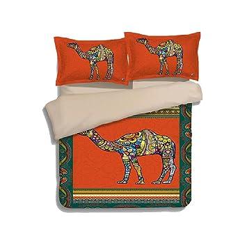 Kreativ Retro Bettwäsche Sets Bettbezug U0026 Zwei Kissenbezug Bettgarnitur  Kissenbezüge Schlafzimmer Schlafsaal Home Set Ornament