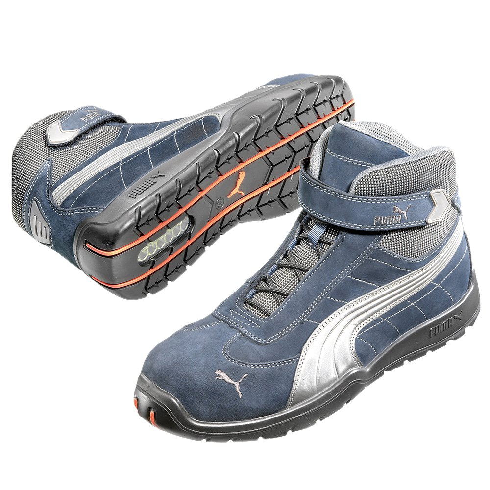 72d57d3b18f Puma S3 Safety Safety Boot Moto Protect LE MANS Mid 63.217.0 High Calf  Boots Shoes Size