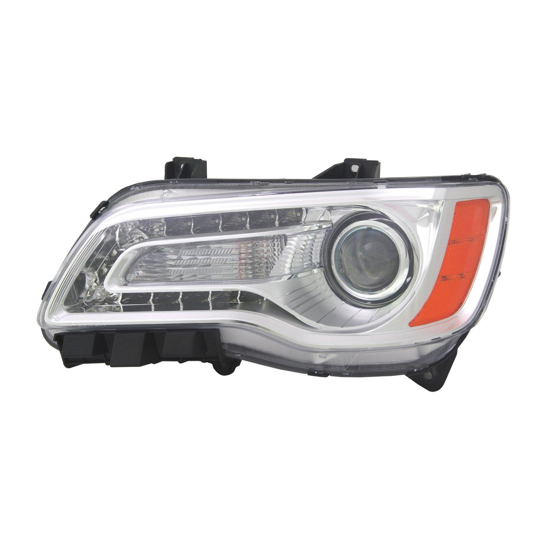 Amazon com: TYC 20-9218-00-9 Replacement Left Head Lamp