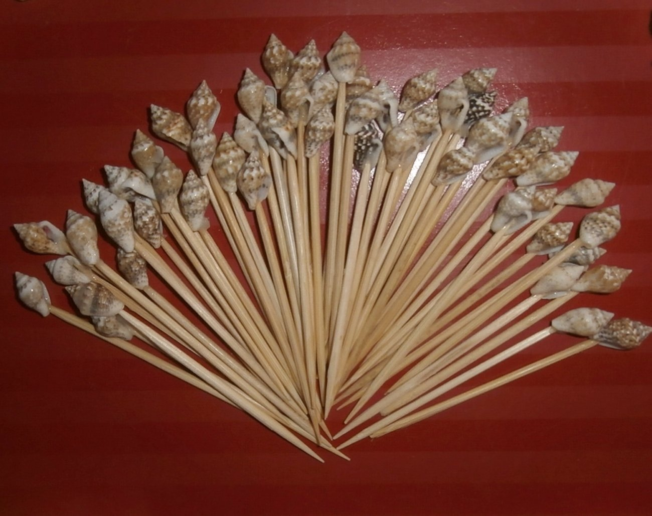 500 Seashell Toothpicks Beach Wedding/tiki Bar/Restaurant by B&P