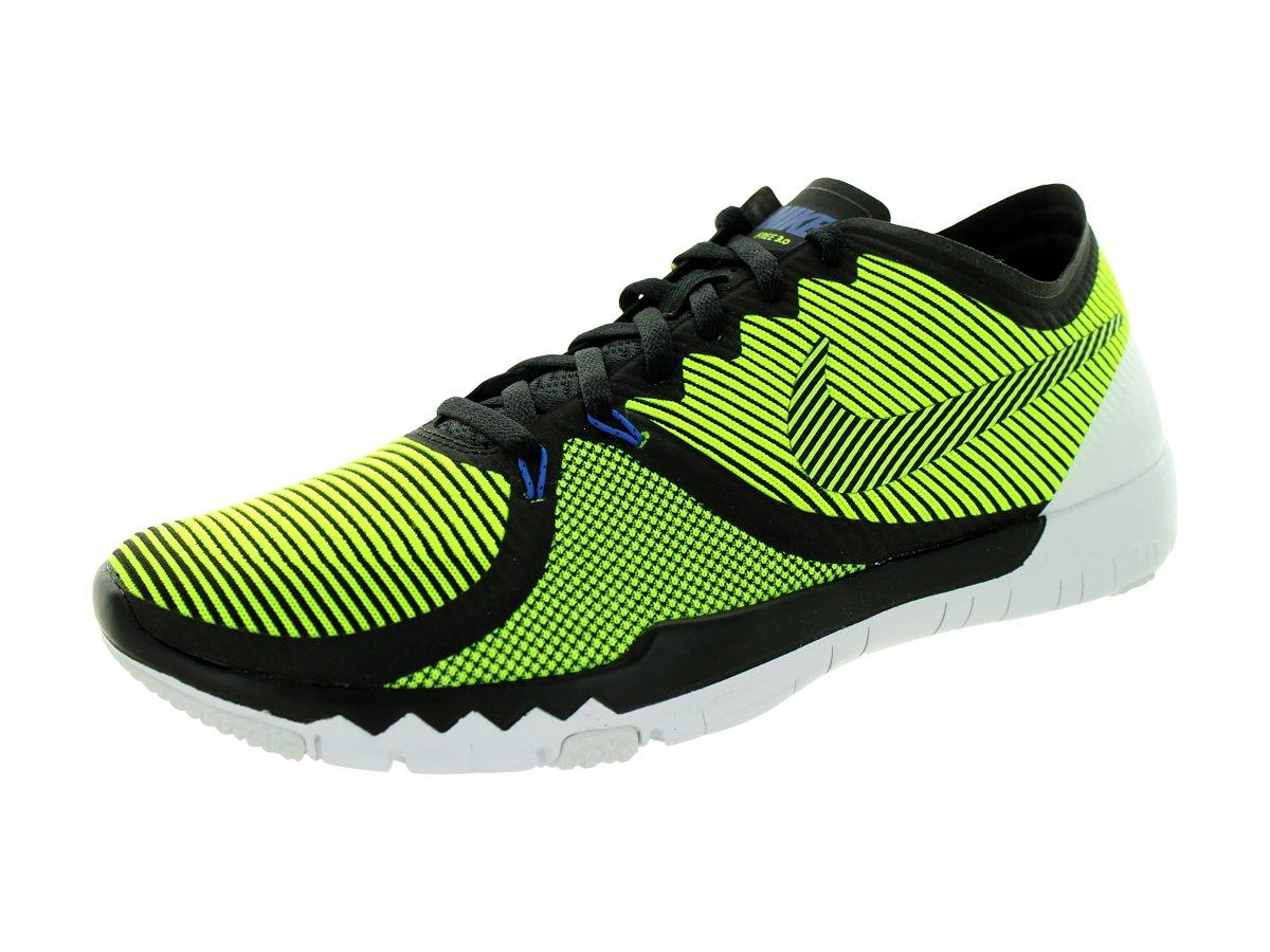 NIKE Men's Free Trainer 3.0 V4 Training Shoe B00Q6UU3GE 10 D(M) US|BLACK/VOLT-CACTUS-WHITE