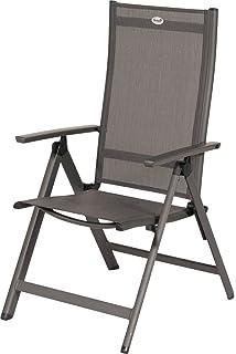 HARTMAN Aruba Stilvoller Multipositionssessel In Xerix Und Anthrazit,  Solides Aluminiumgestell, Sitzfläche Aus Hochwertigem Textilen