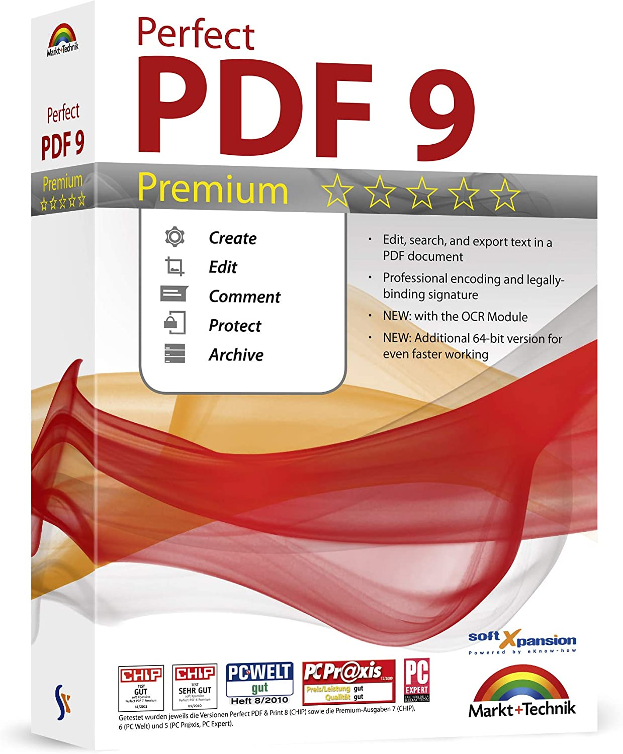 3959828160 Perfect PDF 9 Premium - Powerful PDF Editing Software - 100% Compatible with Adobe Acrobat - Create, Edit, Convert, Protect, Add Comments, Insert Digital Signatures, OCR Recognition 71-PWmhw3sL