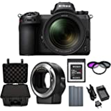 Nikon Z6 Mirrorless Digital Camera with 24-70mm Lens with Nikon FTZ Mount Adapter and 120GB XQD Card and Accessory Bundle
