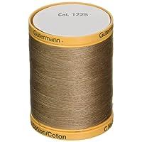 Gutermann–Fil de Coton Naturel Solides (à Coudre)–en Couleur de Votre Choix