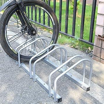 Aparcamiento para bicicleta soporte para aparcar 3 bicicletas ...