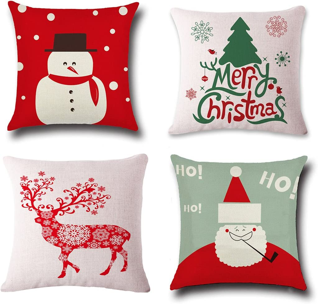 Christmas Pillow Covers ...