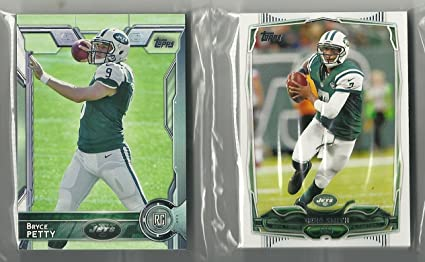 2014   2015 Topps Football New York Jets Team Set 38 Cards at ... 4e32aacd8