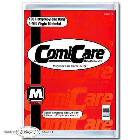 Amazon.com: comicare Revista Tamaño Comic Book bolsas en ...