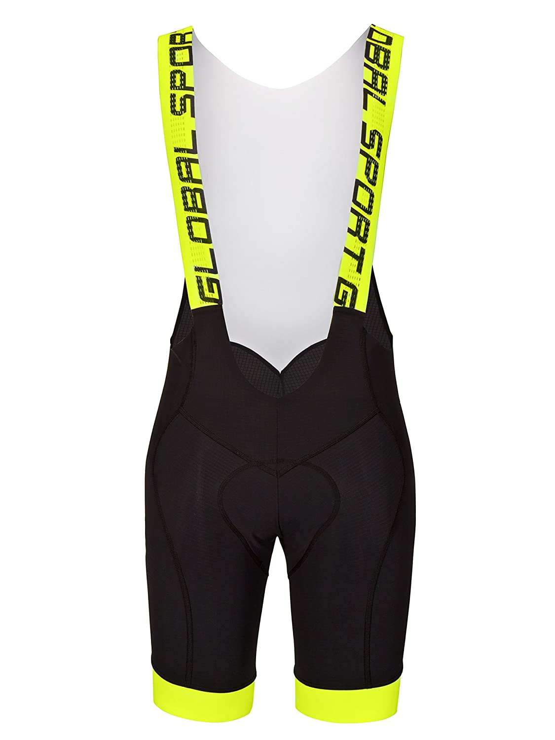 GSG Marmolada Anatomic Fit Lycra Mens Cycling Shorts Yellow GSG SRL
