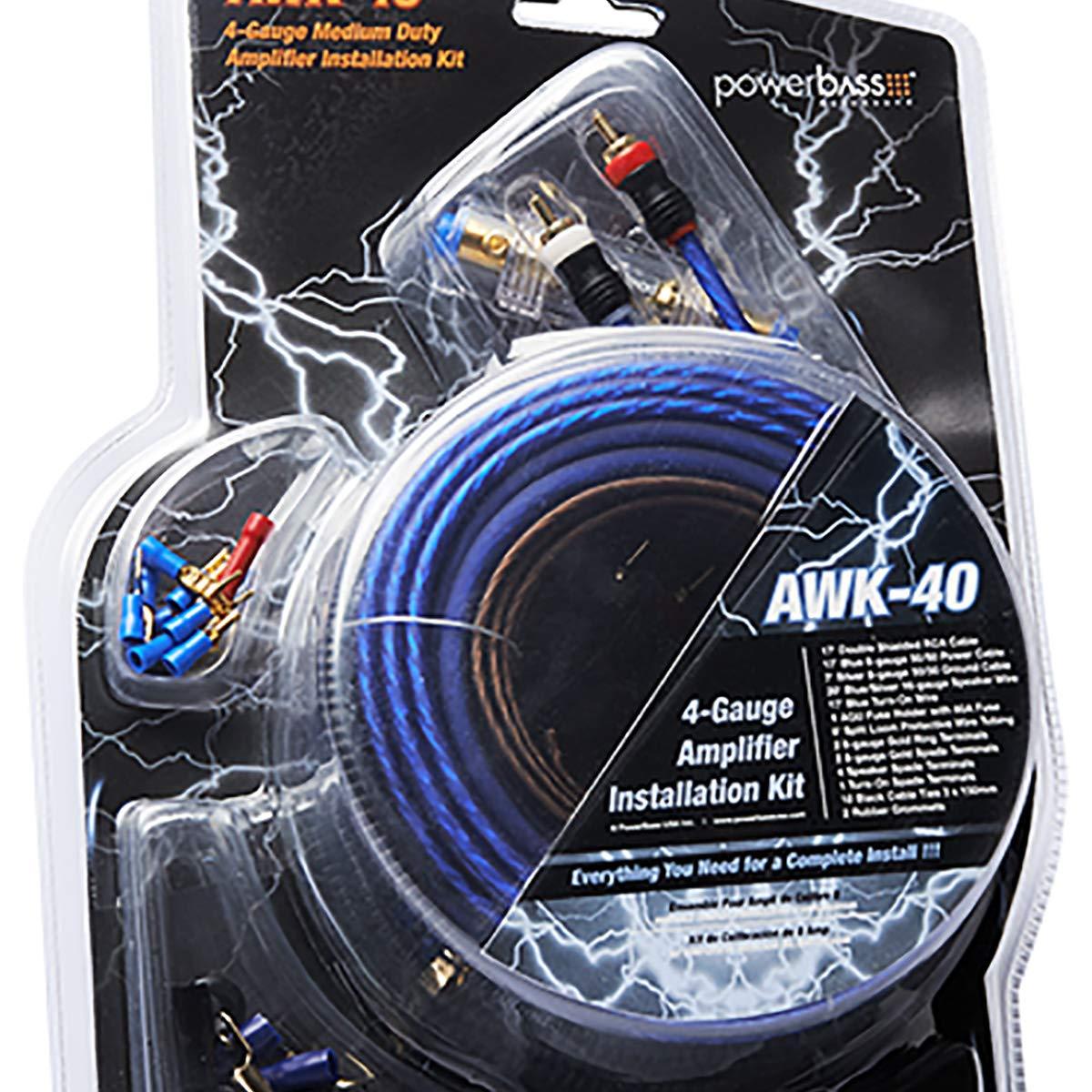Powerbass AWS-12SP Gauge 330'Speaker Wire Spool