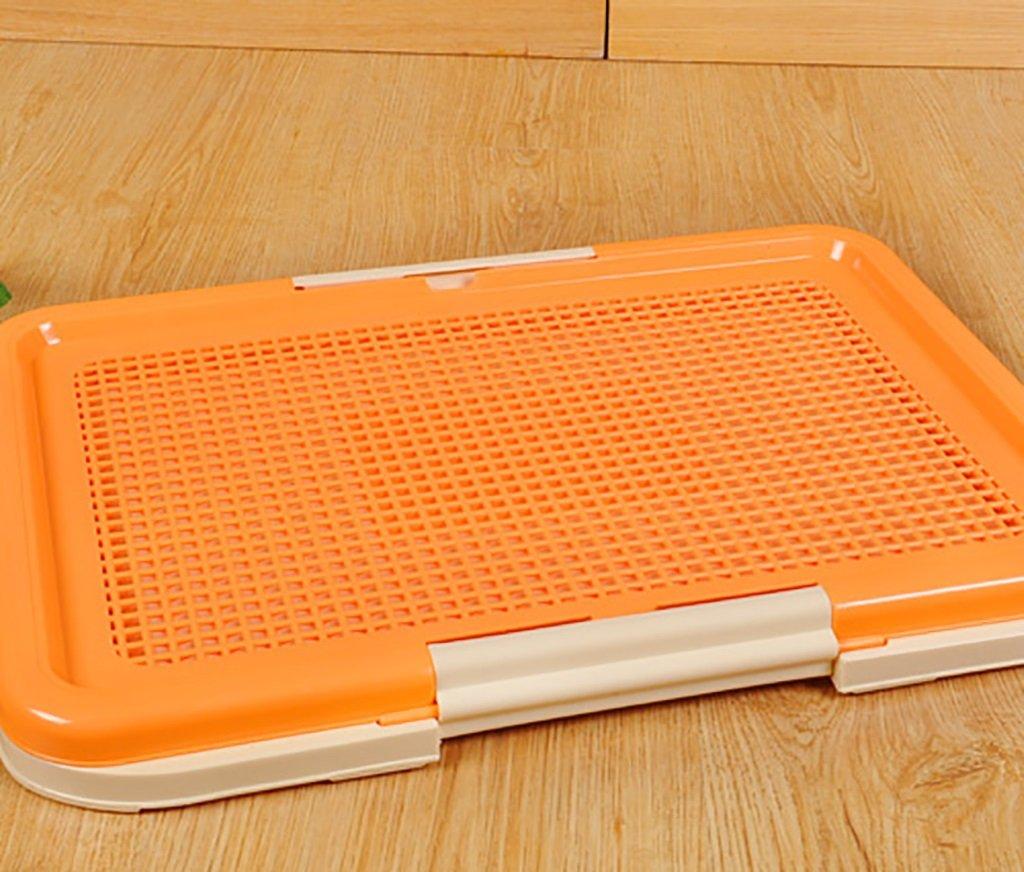 A 47.5CMX34.5CMX4CM A 47.5CMX34.5CMX4CM Xiao Mi Guo Ji Pet toilet-dog toilet pet urinal corrosion-resistant non-deformable pet supplies Pet potty (color   A, Size   47.5CMX34.5CMX4CM)