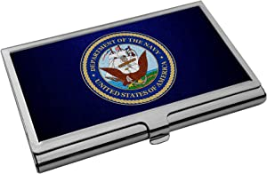 Business Card Holder - US Department of The Navy, Seal