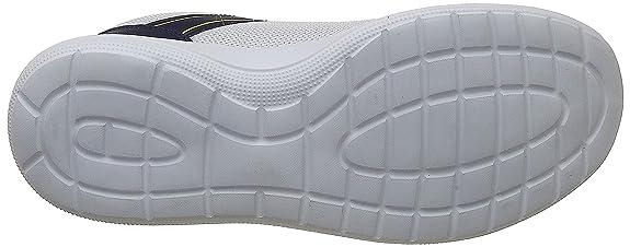 Sunro Wht/Pea/YEL Running Shoes