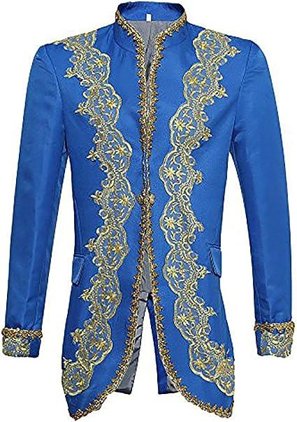 Abiti da Uomo 3 Pezzi Casual Slim Fit Abito Elegante Taglio Stile Reale Giacca da Smoking Giacche e Gilet e Pantaloni