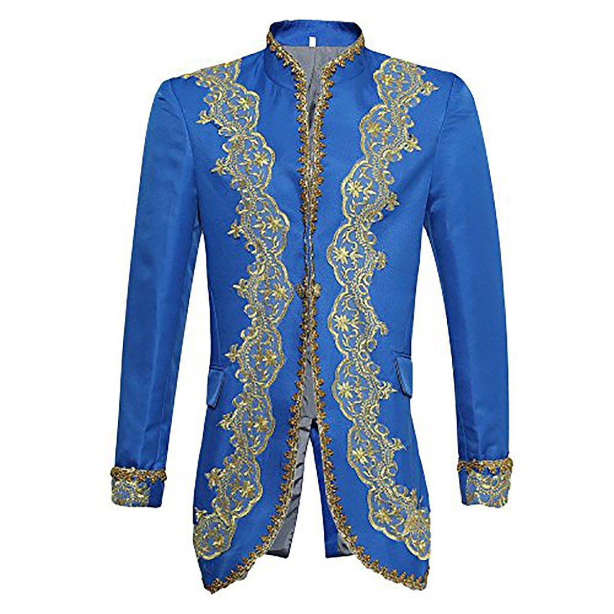 Completo da uomo, aderente e di grande stile, lussuoso, giacca, gilet e pantaloni Black S GTFHS0S
