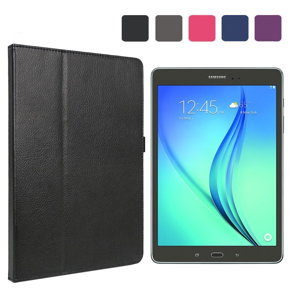Scheam Tablet Case, Excellent Skin Premium PU Leather Card Slot Wallet Style Skin with kickstand Flip Cover Case for Tablet