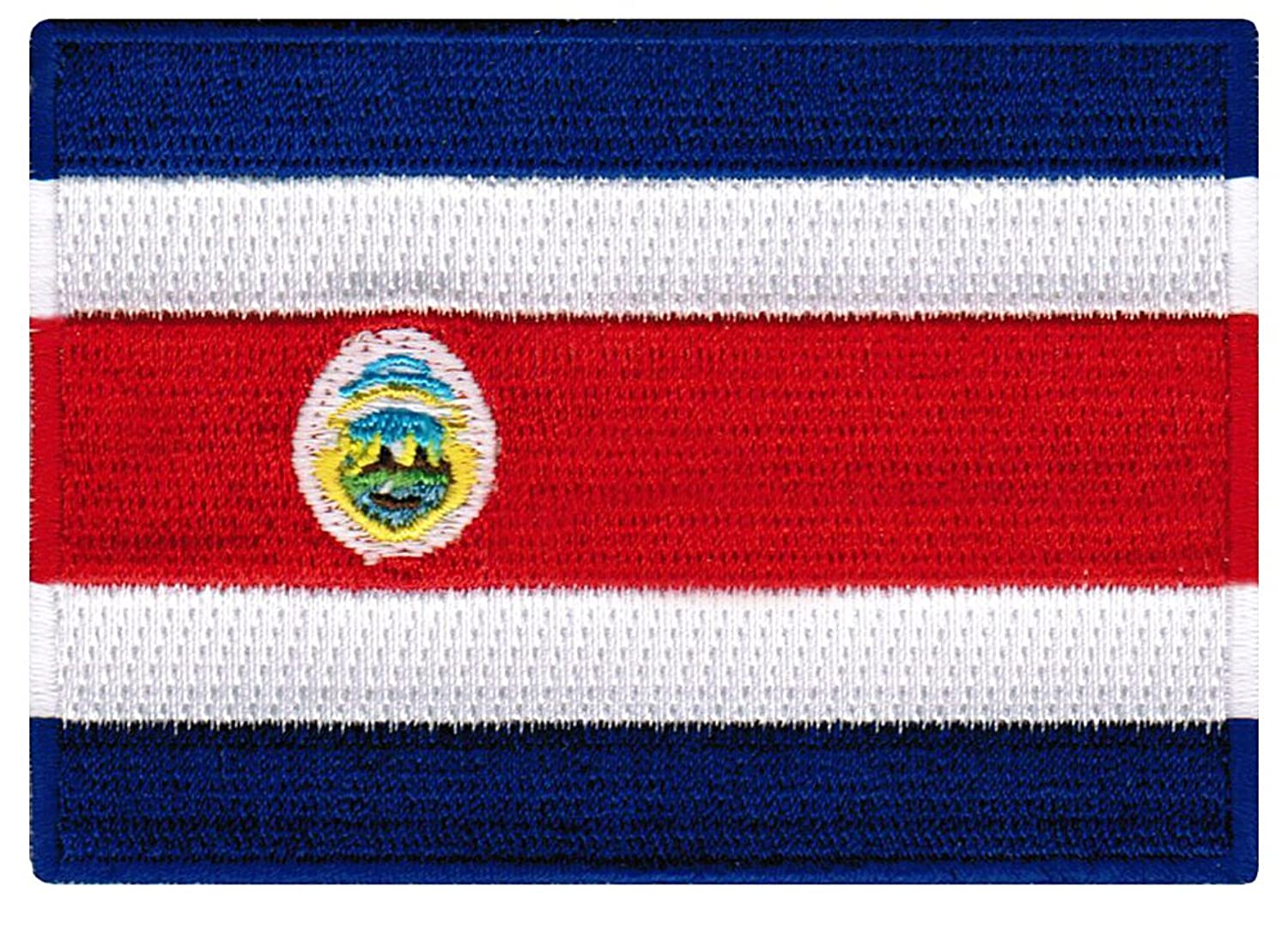 amazon com costa rica flag embroidered patch tico iron on