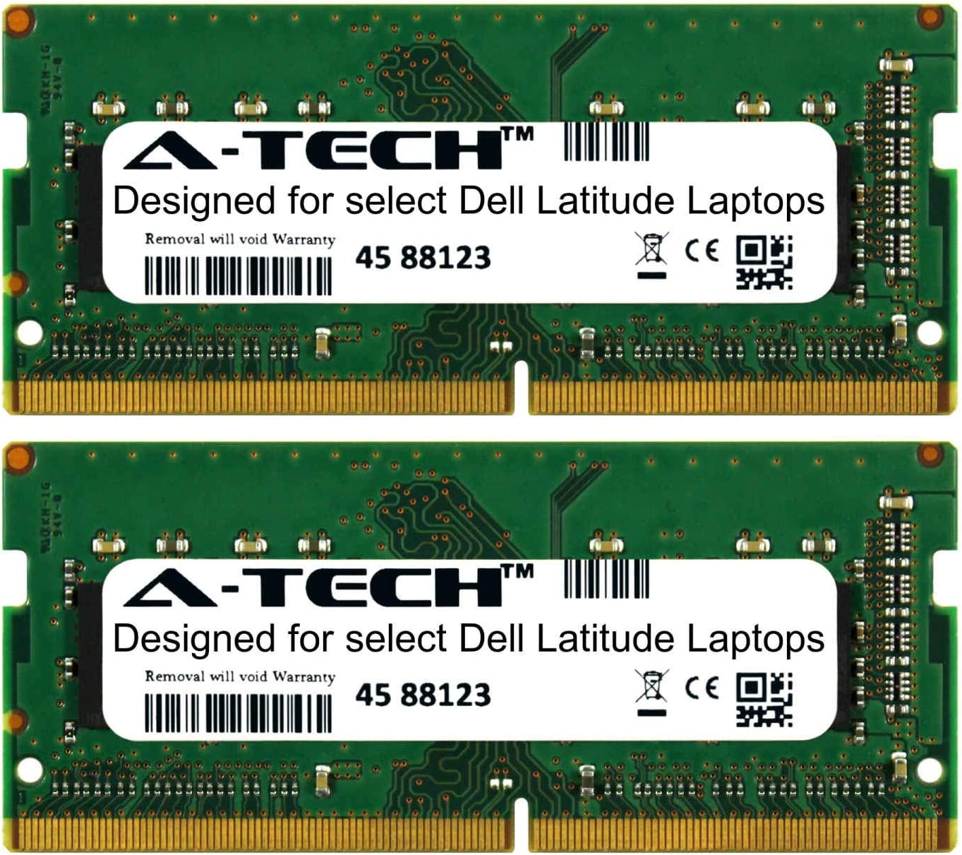 A-Tech 32GB Kit (2 x 16GB) for Dell Latitude 5000 Series 5280 5414 5470 5480 5490 5491 5495 5570 5580 5590 5591 E5280 E5414 E5470 E5480 E5490 E5491 E5570 E5580 E5590 2666Mhz DDR4 Laptop Memory Ram