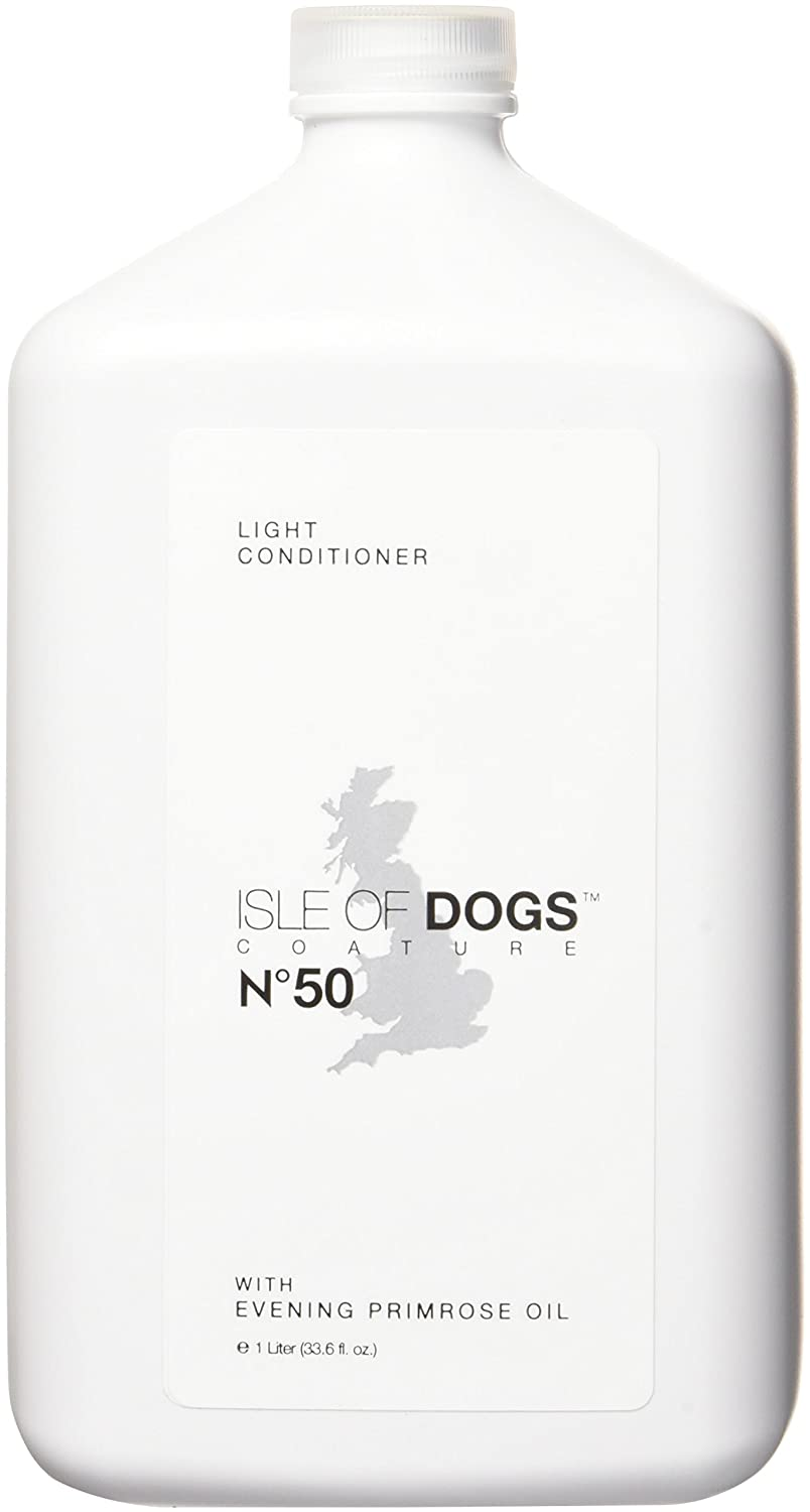 1-Liter Isle of Dogs Coature No. 50 Light Management Dog Conditioner for Dry Hair, 1-Liter